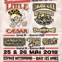 L'affiche du BULLY ON ROCKS Festival